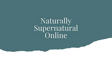 Wendy Mann Naturally Supernatural Course