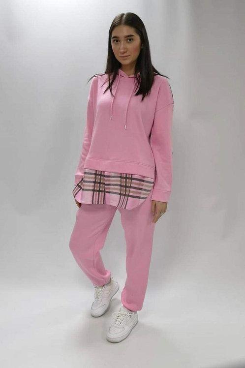 Pink sweat shirt