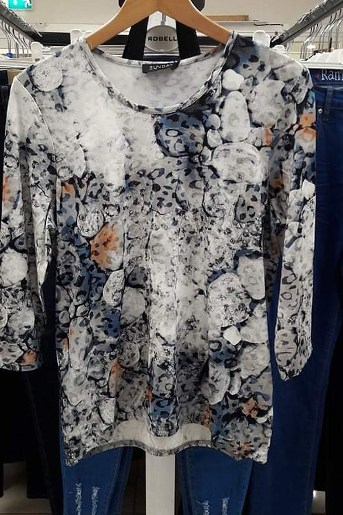 Sunday patterned top