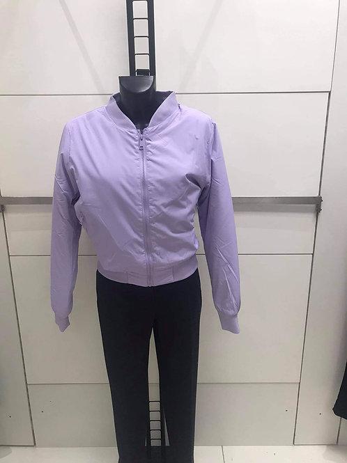 Lilac bomber jacket