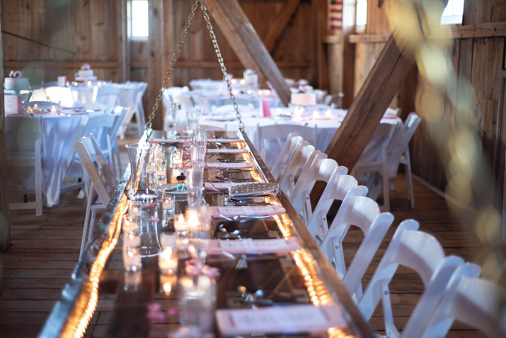 Choosing a rustic wedding venue