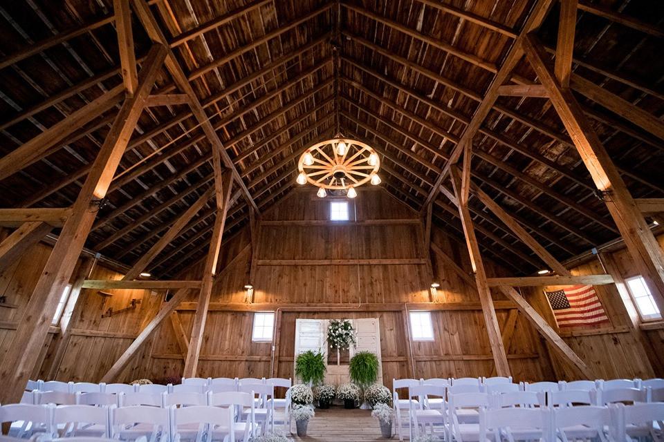 Choosing a barn wedding venue