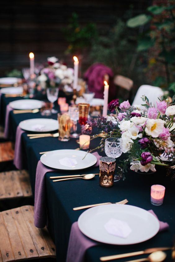 How to choose wedding color palette