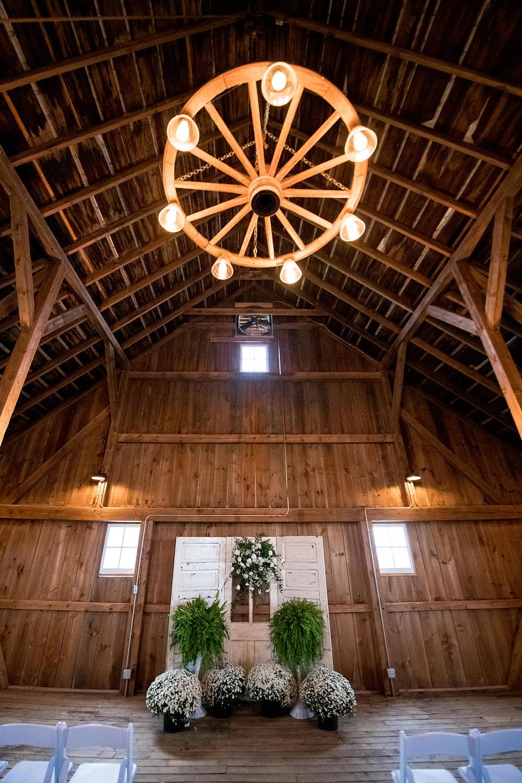 The Barn at Double K Ranch Wedding Arch Alternative