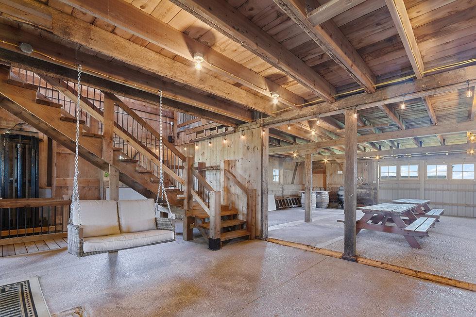 Milking Parlor barn wedding venue