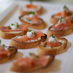 Recipe: Salmon Crostini