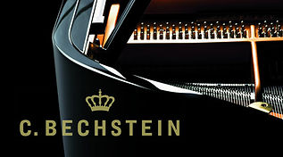 Bechstein grand, baby grand and upright piano