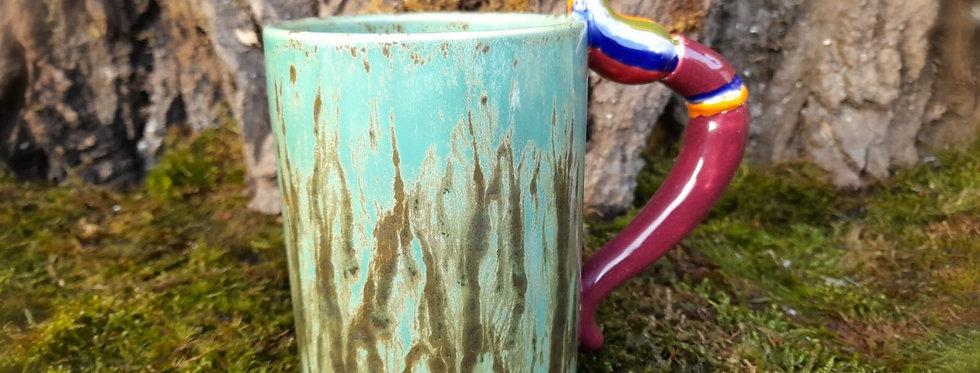 Die Kaffeetasse für den Künstler 8,5 x 14 cm höhe