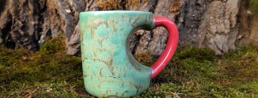 Tasse- Henkel als Herz 8,5 x 10 cm