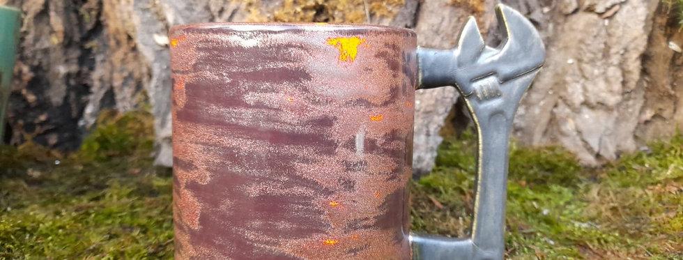 Tasse- Schraubenschlüssel - Die Handwerkertasse 9x11 cm