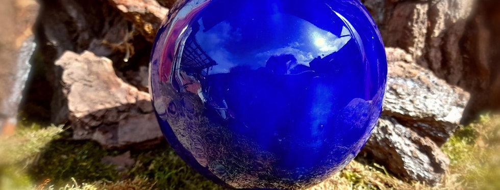 Rosenkugel Blau