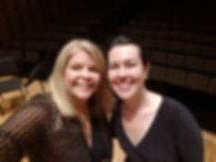 Veronica Pollicino with Susan Graham - S