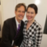Veronica Pollicino with Jake Heggie - SO