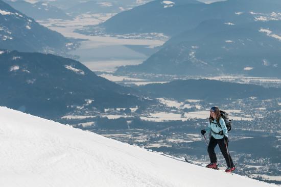 Skitour auf den Dobratsch