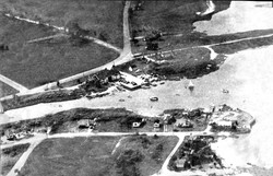 Early Aerial from SE (Rear)