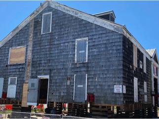 Restoration Of Tupper Boathouse Underway in North Sea