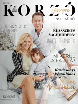 Korzó Magazin 2018 tél címlap