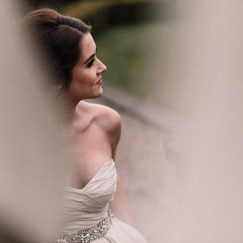 Bridal Portrait at Knosley Hall