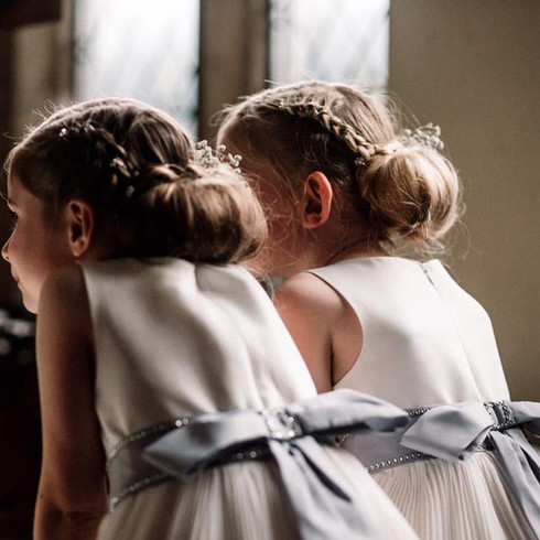 Flower Girls at Rowton Hall