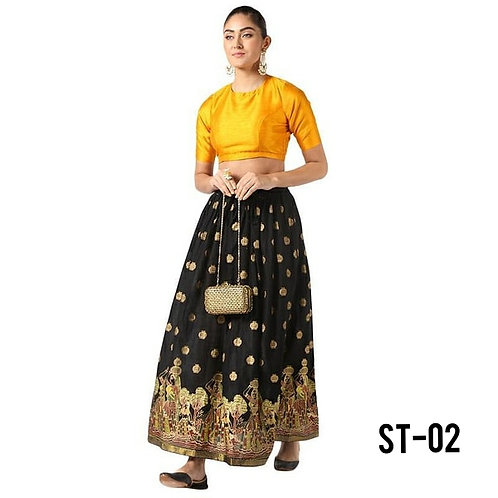 Women's Cotton Printed Skirts