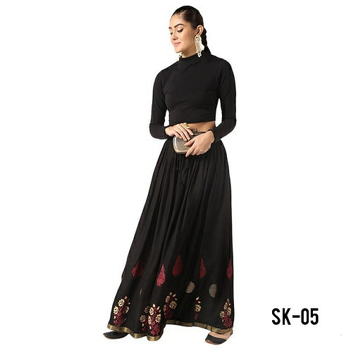 Women's Cotton Printed Skirts