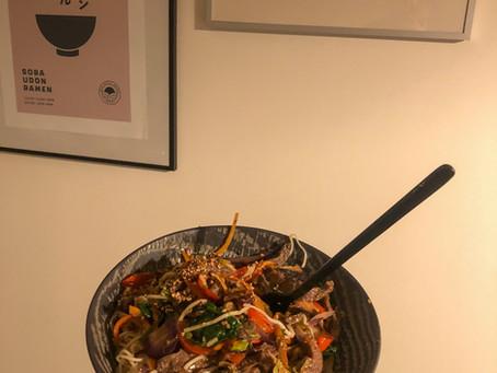 Jednoduché korejské stir fry!