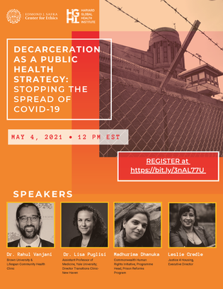 Harvard University COVID Decarceration
