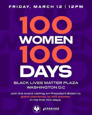 Release 100 Women in 100 Days
