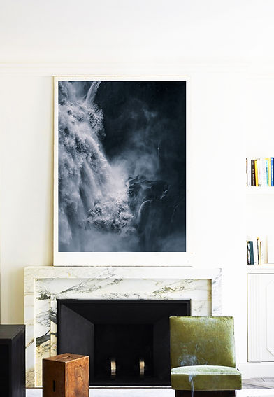 Framed photo of Waterfall by Donna Stevens