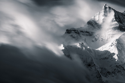 Dents du Midi Abstract, Switzerland