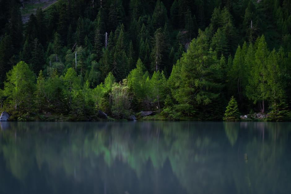Lac de Derborance, Switzerland