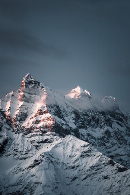 Dents du Midi, Close up, Switzerland