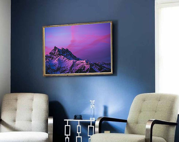 Frames photo of Dents du Midi by Donna Stevens