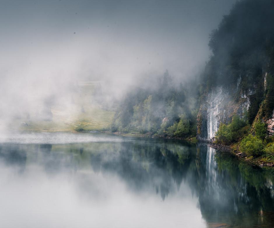 Lac des Chavonnes, Switzerland
