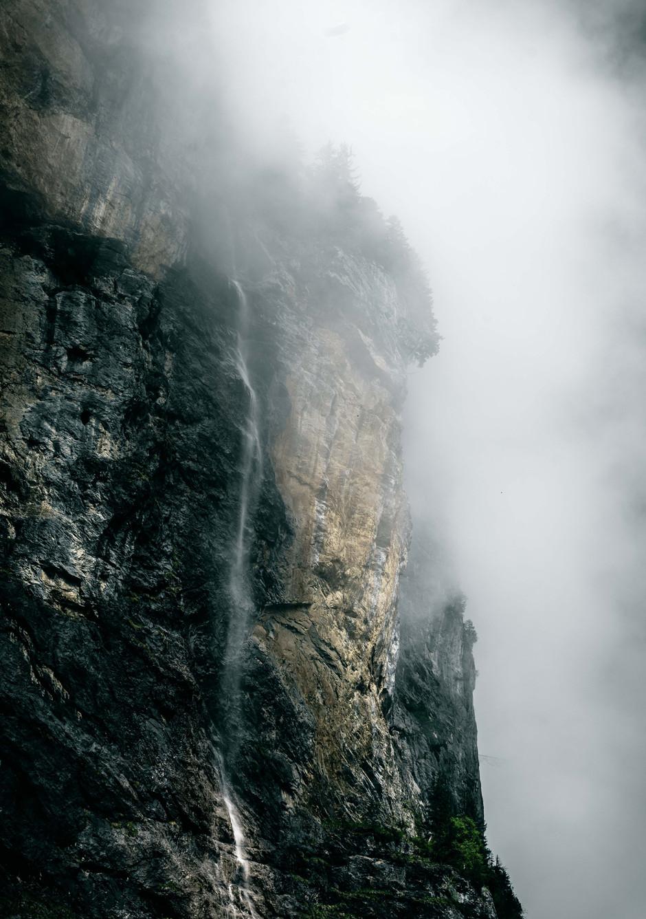 Waterfall in Lauterbrunnen