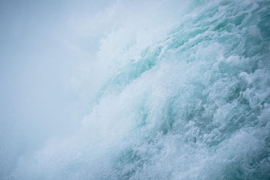 Blue Waterfall, Switzerland