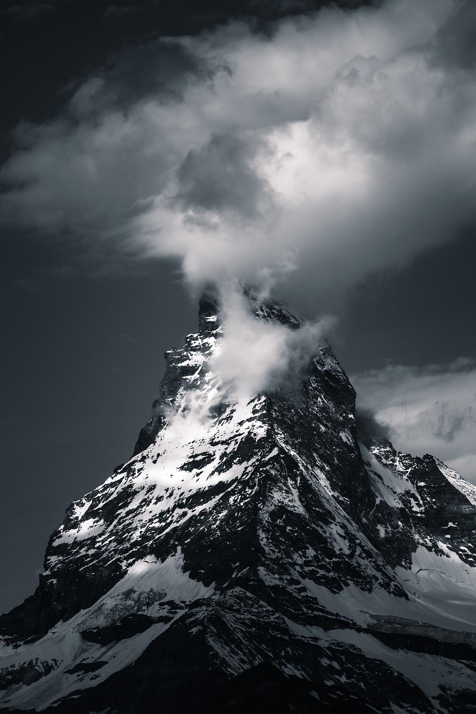 Matterhorn mountain in Zermatt