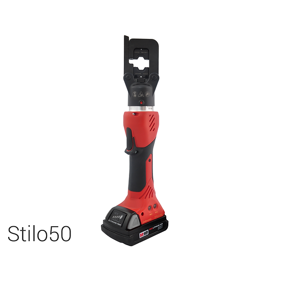 Battery operated hydraulic crimping tool | 50 kN | max. 240 mm2