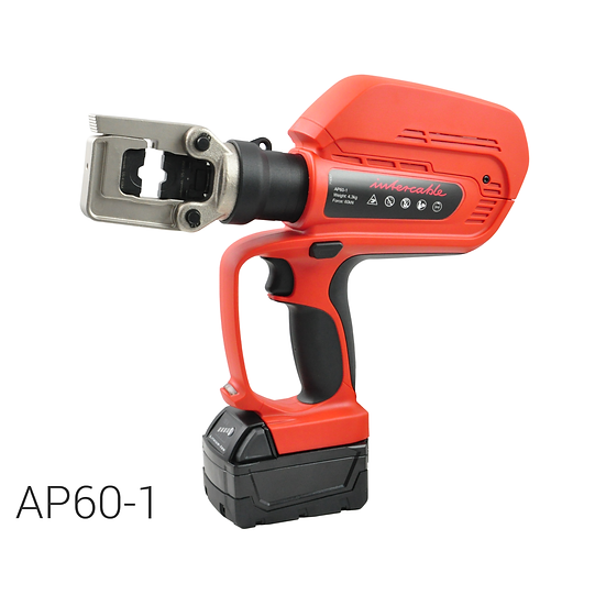 Battery operated hydraulic crimping tool | 60 kN | max. 240 mm2