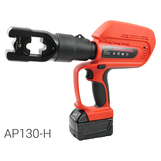 Battery operated hydraulic crimping tool | 130 kN | max. 400 mm2
