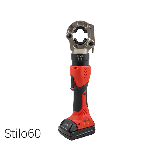 Battery operated hydraulic crimping tool   60 kN   max. 300 mm2