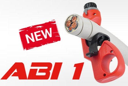 ABI1 - Outer cable jacket stripping cutter with spring quick release system