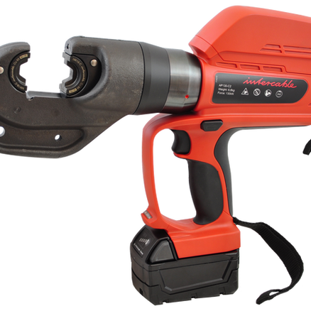 AP130-C2 battery operated hydraulic crimping tool