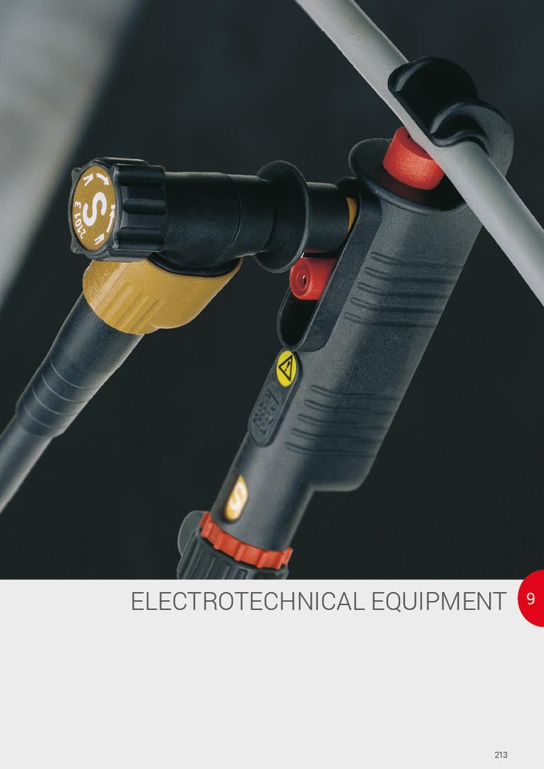 Elektrotechnikai felszerelések   Echipamente electrotehnice   Elektrotechnické zariadenia   Elektrotehniška oprema