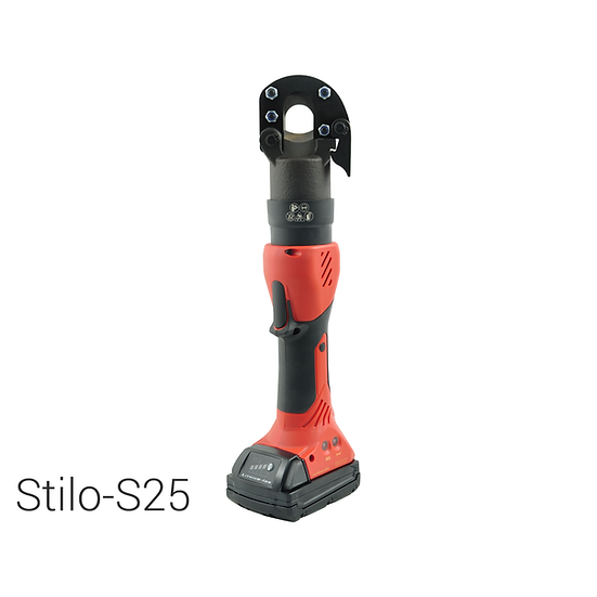 Battery operated hydraulic cutting tool | Ø 25 mm | Steel, ACSR, Al, Cu