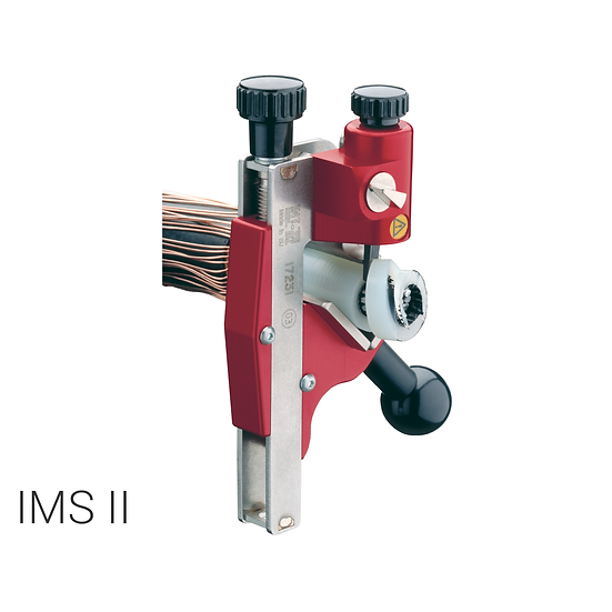 IMS II - Universal cable stripper for primary insulation