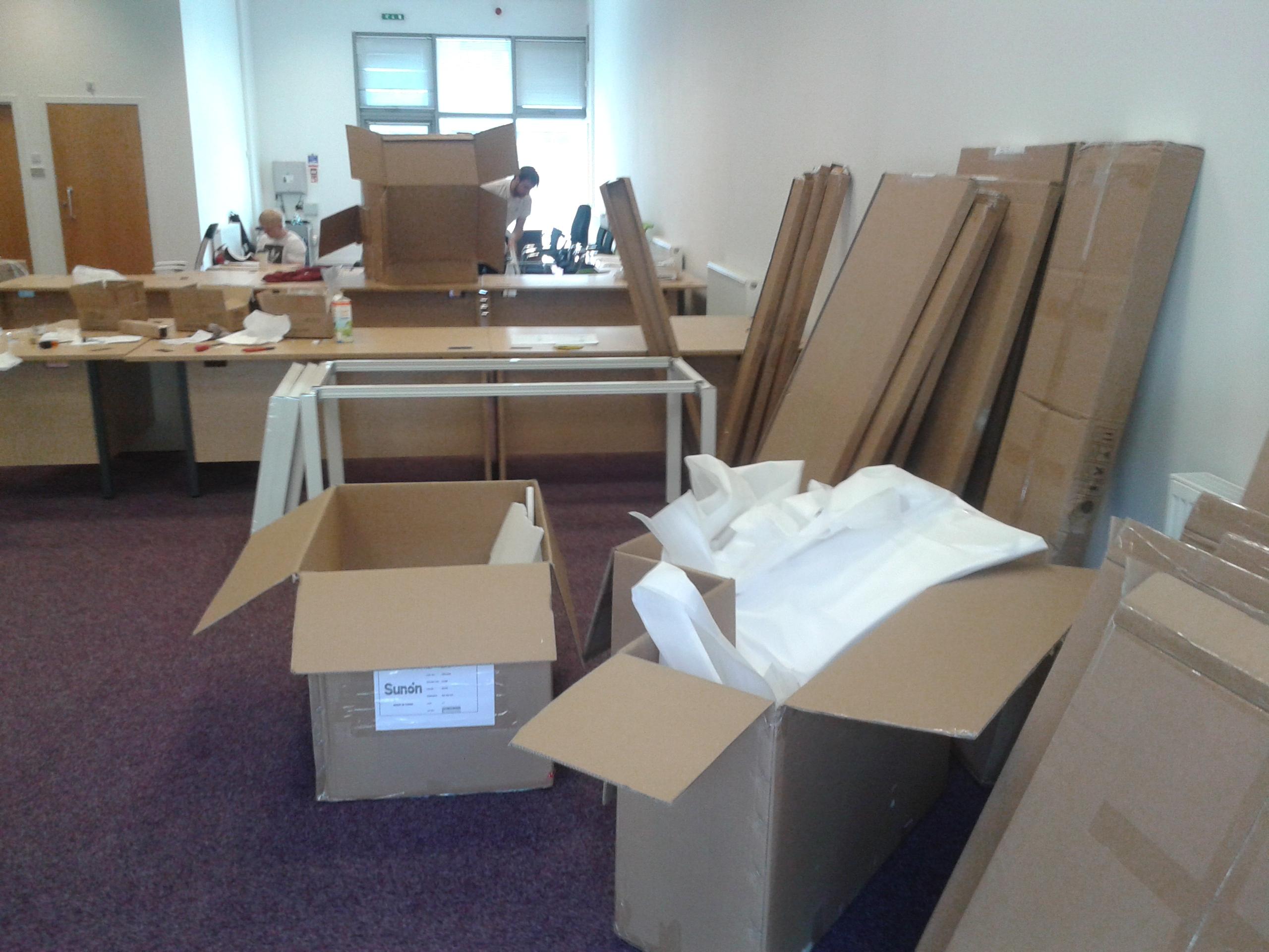 Flat pack assemblers