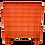 Thumbnail: Contenedor de Plastico Mexico Cerrado 80cm x 80cm x 80cm