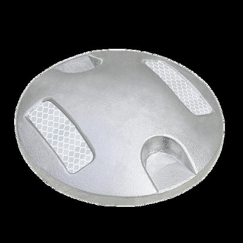 Botón Aluminio con 2 Caras Reflejante