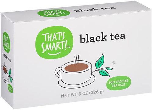 That's Smart Black Tea Bags 100Ct